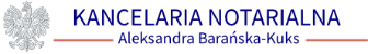 Kancelaria Notarialna Aleksandra Barańska-Kuks